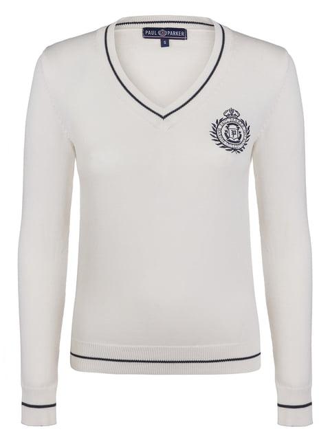 Пуловер цвета экрю PAUL PARKER 3797441