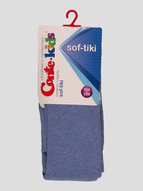 Колготки цвета светлый джинс Conte Kids 3750157