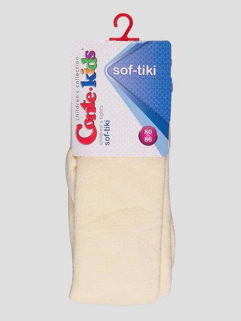 Колготки кремовые с рисунком Conte Kids 3750151