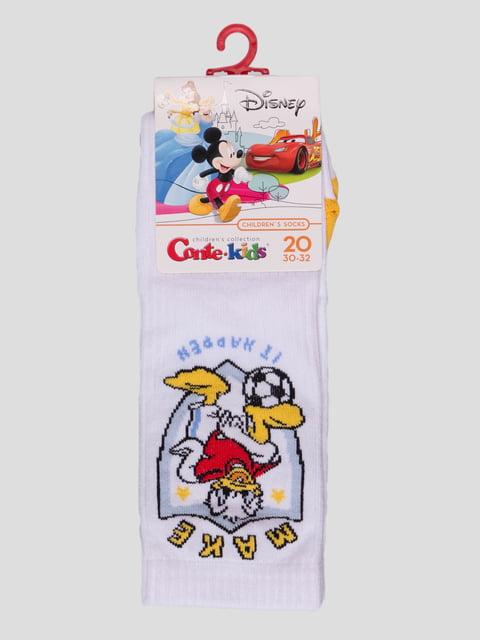 Шкарпетки білі з малюнком Conte Kids 4366820