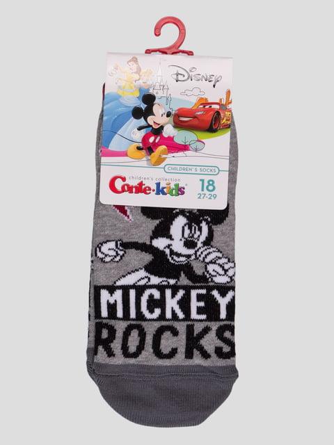 Носки серые с рисунком Conte Kids 4366807