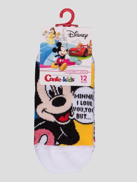 Носки белые с рисунком Conte Kids 4366810