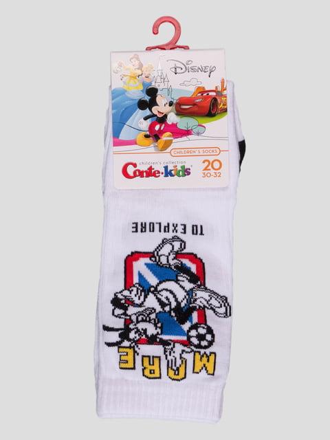 Шкарпетки білі з малюнком Conte Kids 4366821