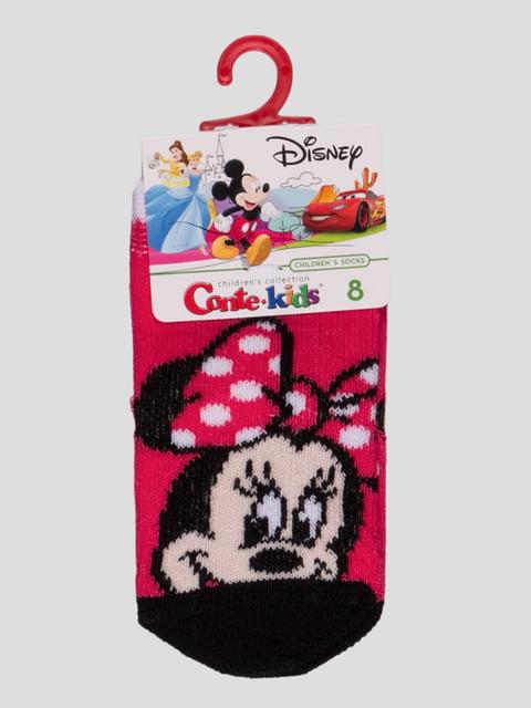 Носки малиновые с рисунком Conte Kids 4366814