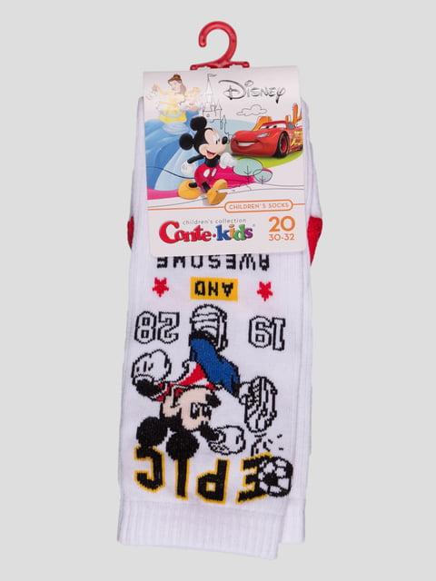 Шкарпетки білі з малюнком Conte Kids 4366822