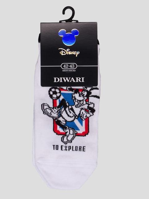 Шкарпетки білі з малюнком Conte 4366591