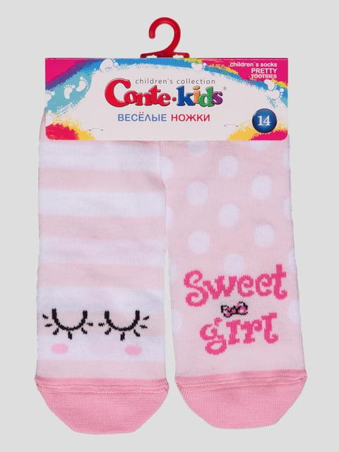 Носки розовые Conte Kids 3750386