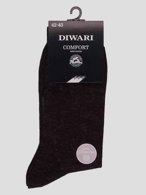 Шкарпетки темно-коричневі Conte 4366577