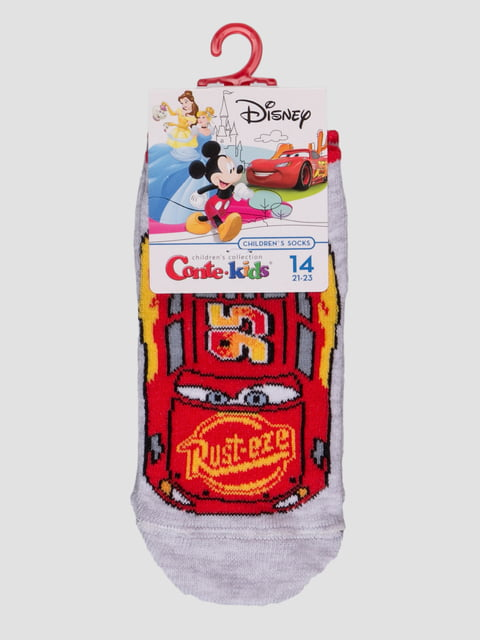 Носки серые с рисунком Conte Kids 4366826