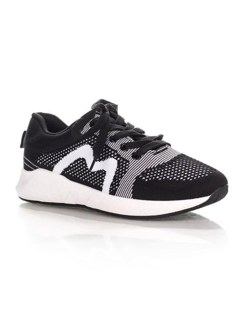 Кросівки чорно-білі Fashion 4371997
