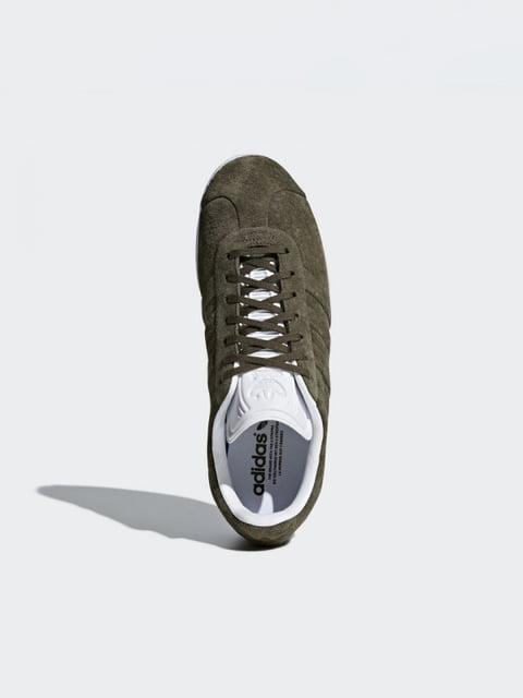 Кроссовки цвета хаки Adidas 4374159