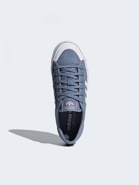 Кросівки блакитні Adidas 4374189