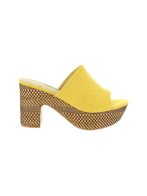 Сабо желтые MARIA MARE 4376864