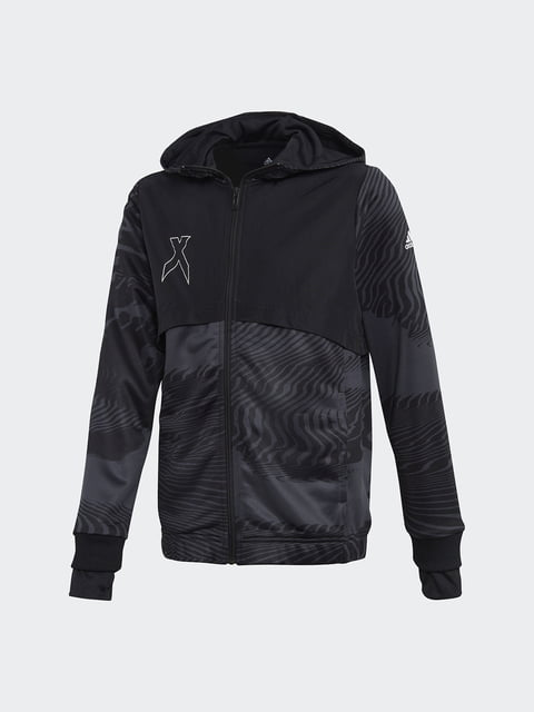 Кофта чорна Adidas 4375300