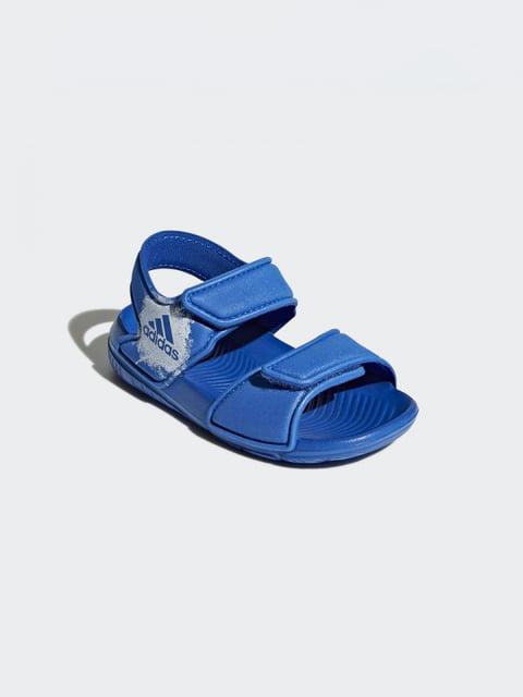Сандалии синие Adidas 4375721