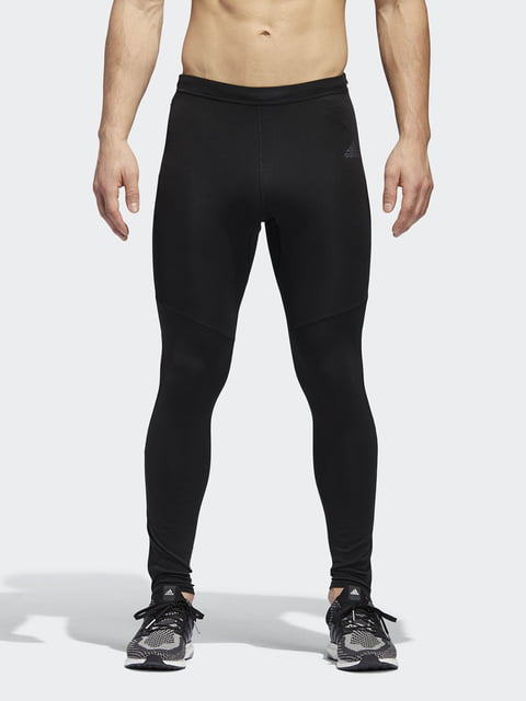 Тайтсы черные Adidas 4376196