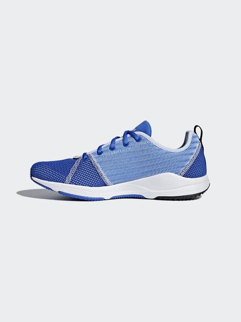 Кроссовки синие Adidas 4376392