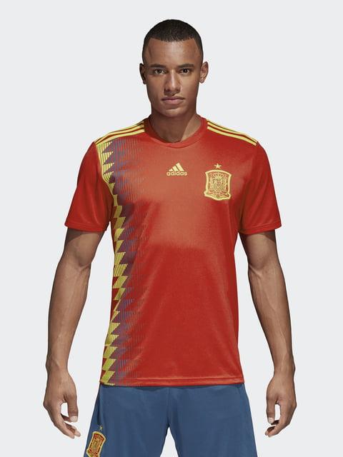 Футболка красная Adidas 4376733