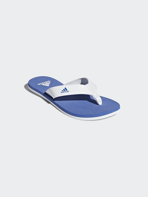 Вьетнамки бело-голубые Adidas 4375564