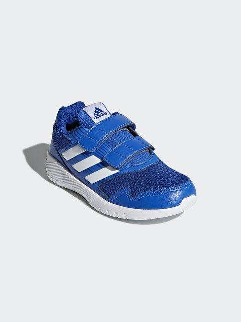 Кроссовки синие Adidas 4375592