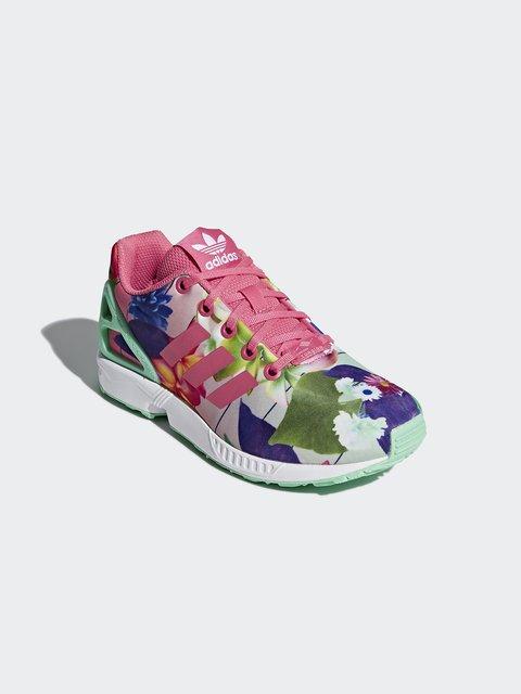 Кроссовки в цветочный принт Adidas 4376247