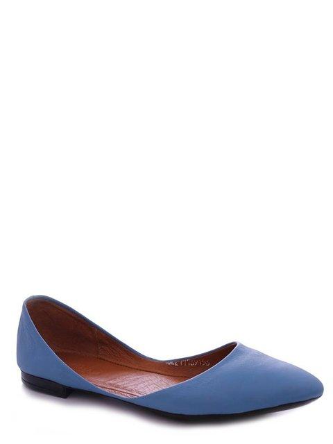 Балетки голубые Viscala 4382221