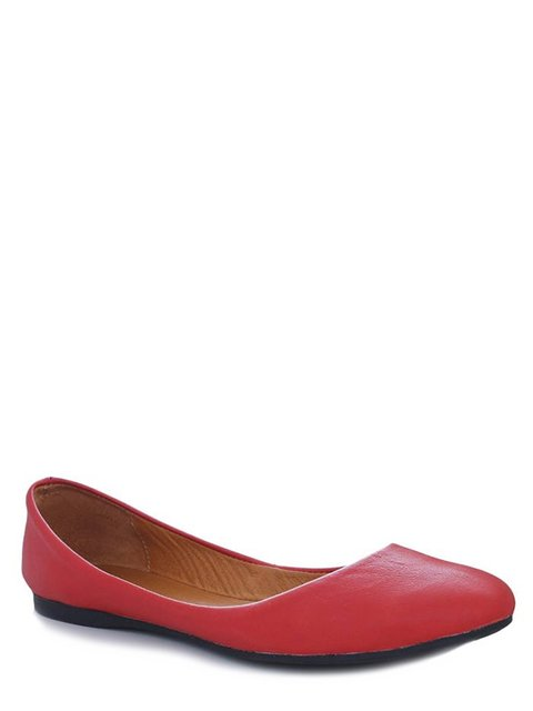 Балетки красные Viscala 4382244