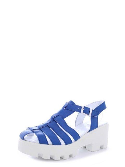 Босоножки синие Viscala 4382335