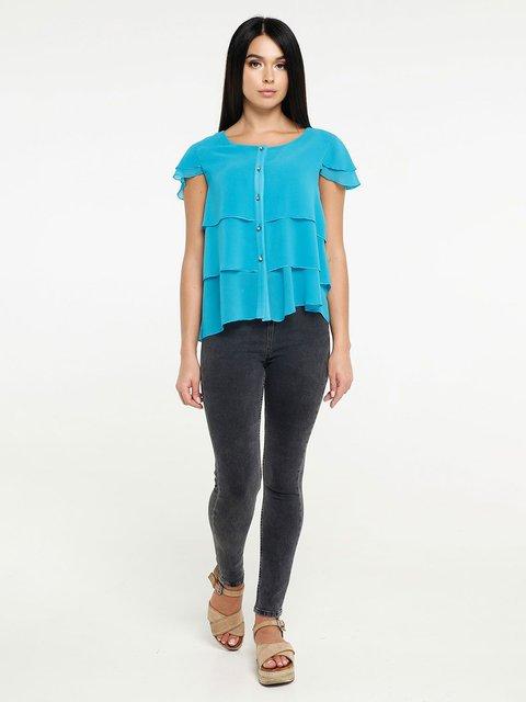 Блуза бирюзовая Favoritti 4382186