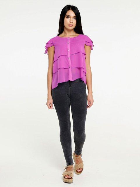 Блуза ярко-сиреневая Favoritti 4382187
