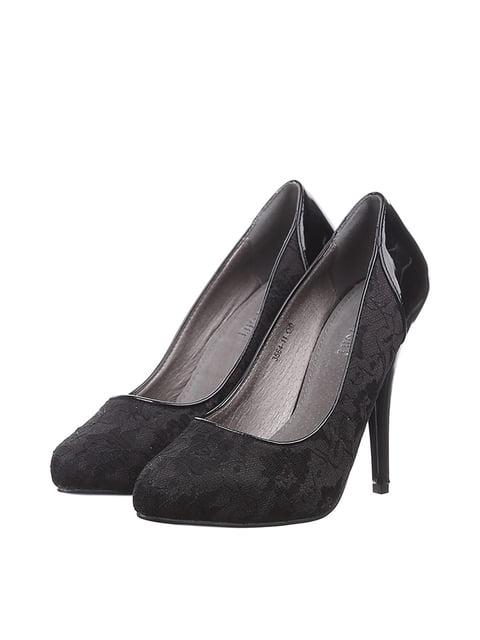 Туфлі чорні Roselight 4383453