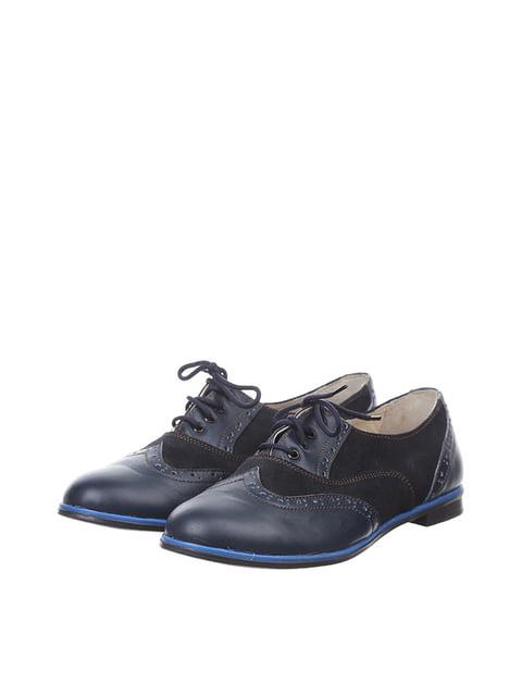 Туфли синие L-Fashion 4383564