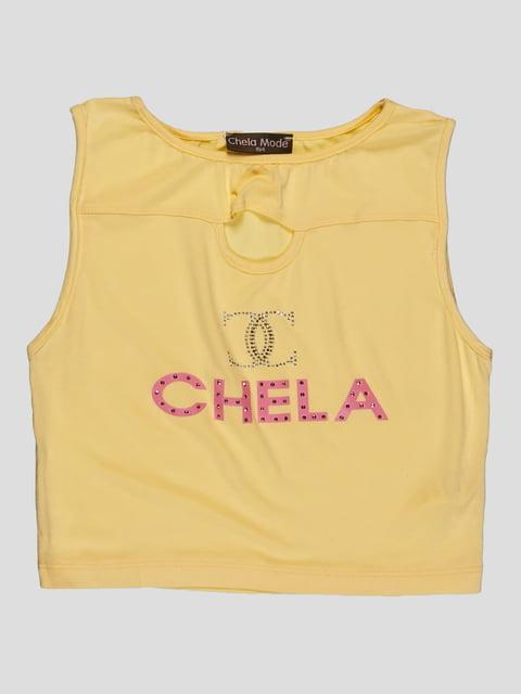 Майка желтая CHELA 3168525