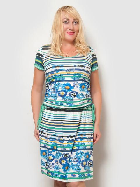 Платье в принт LibeAmore 4386127
