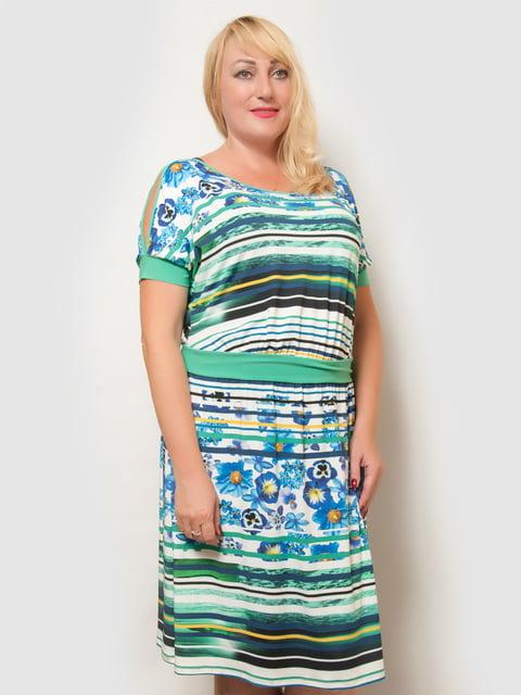 Платье в принт LibeAmore 4386128