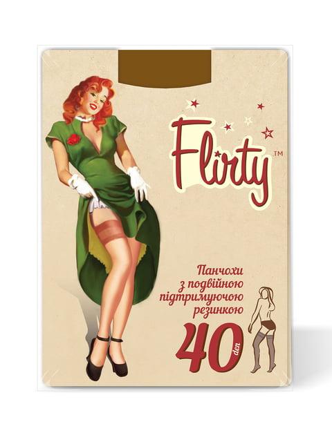 Панчохи тілесного кольору 40 Den Flirty 4343580