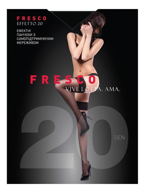 Панчохи чорні 20 Den Fresco 4343719
