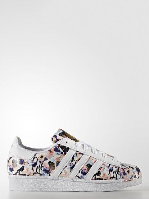 Кроссовки в цветочный принт Adidas 4171079