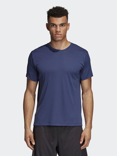 Футболка темно-синяя Adidas 4375853