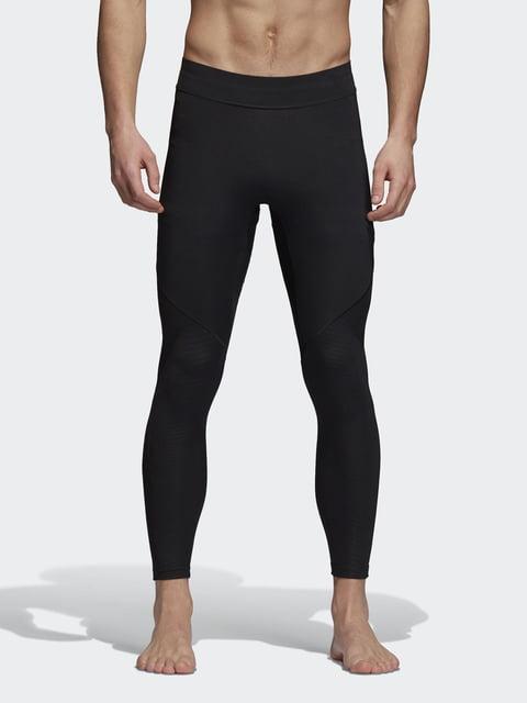 Тайтсы черные Adidas 4376217