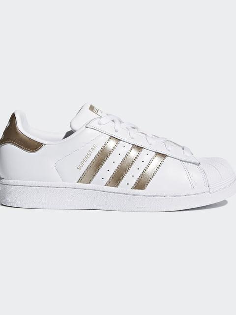 Кроссовки белые Adidas Originals 4385432