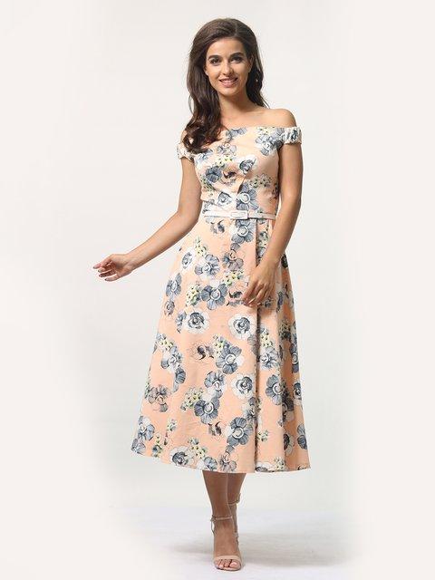 Платье в цветочный принт AGATA WEBERS 4388460