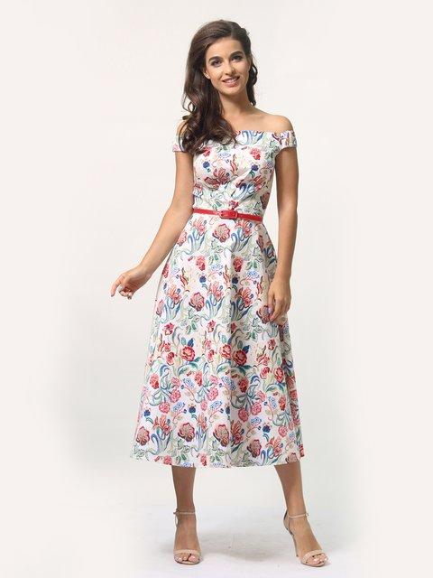Платье в цветочный принт AGATA WEBERS 4388462