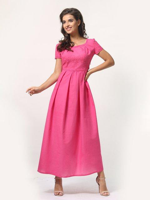 Платье цвета фуксии AGATA WEBERS 4388489