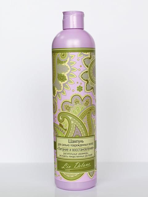 Шампунь «Живлення і відновлення» для дуже пошкодженого волосся (400 г) Liv Delano 4386974