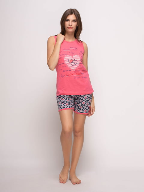 Пижама: майка и шорты Fawn 4356851