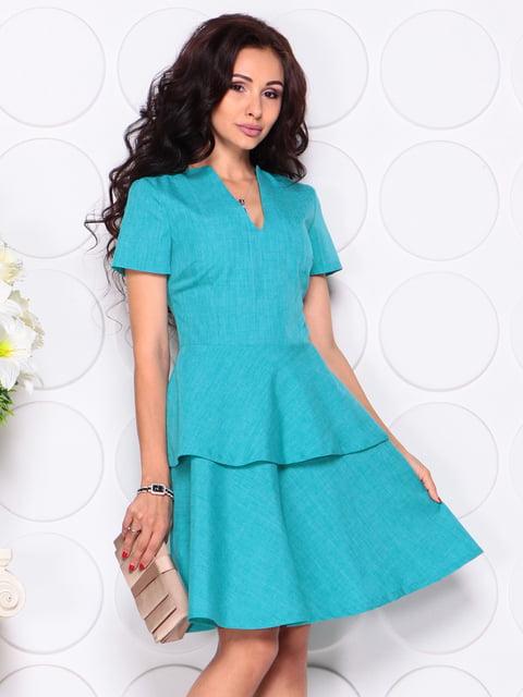 Платье ментолового цвета Laura Bettini 4389195