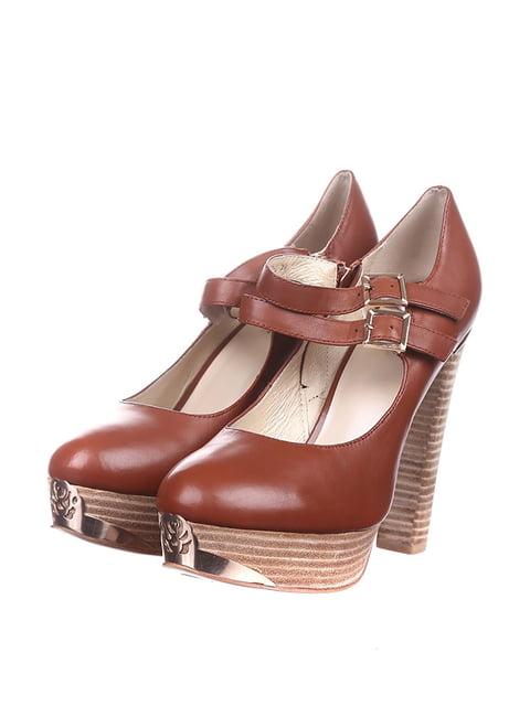 Туфли коричневые Mallanee 4217375