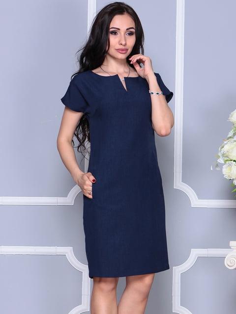 Сукня темно-синя Laura Bettini 4395540