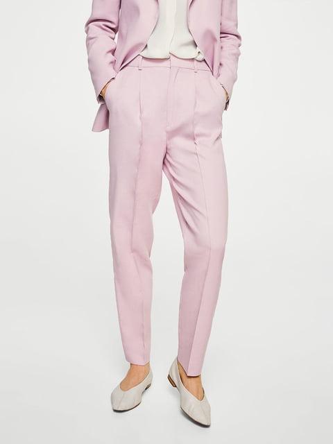 Штани рожеві Mango 4113265